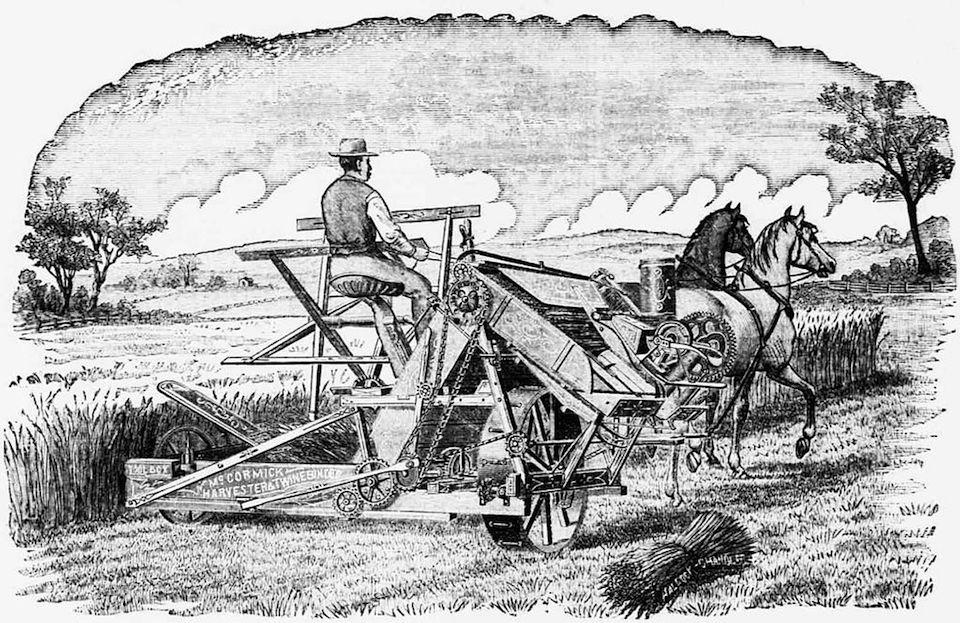 Cyrus Hall McCormick, impulsor de la mecanización del campo. Un inventor que mejoró las ideas de otros