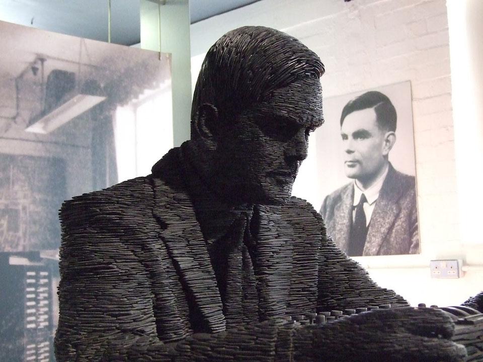 Alan Turing por NeLC