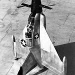 El primer avión que despegó y aterrizó de forma vertical, el Convair XFY-1, 2 de junio de 1954
