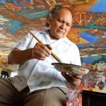 Elio Carmichael, el muralismo mexicano con una visión desde el Mayab