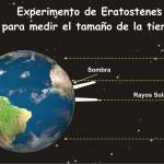 Eratóstenes, realiza en el 240 a.c. la primera medición de la Tierra usando el Solsticio del 21 de junio