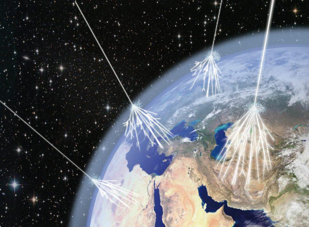 Rayos cósmicos, radiación cósmica