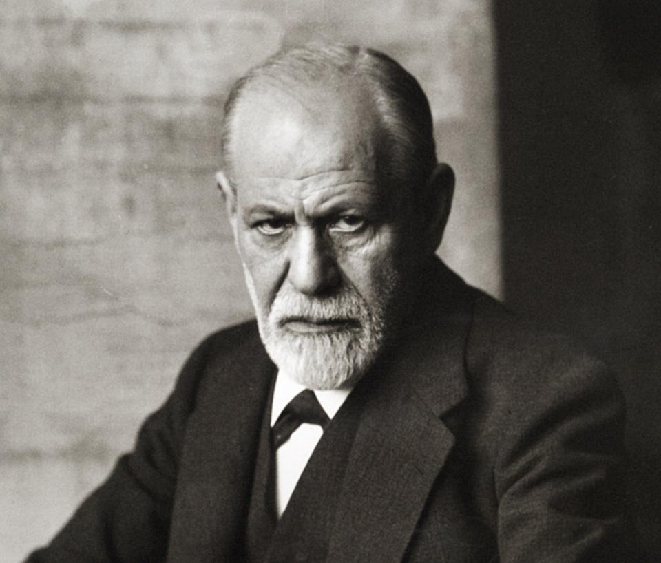 Sigmund Freud, 1926- Ferdinand Schmutzer