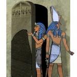 La Piedra Rosetta, descubierta mientras las tropas napoleónicas desenterraban un antiguo fortín egipcio