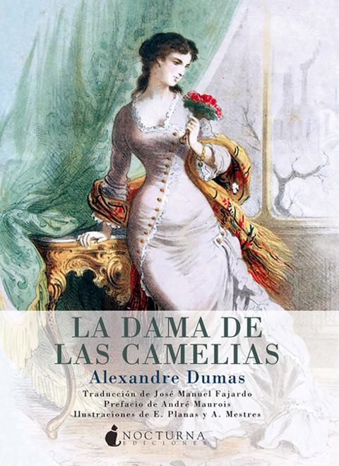 La dama de las camelias, portada