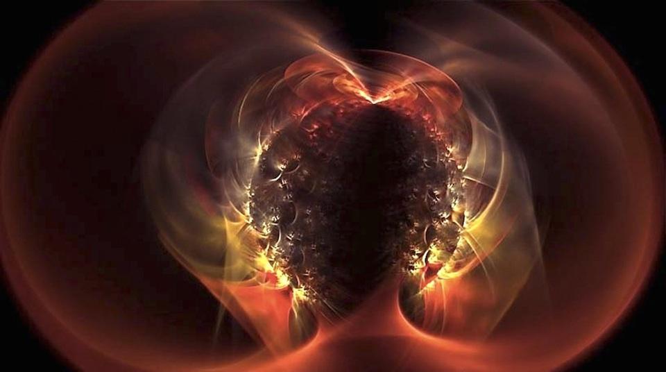 Imagen artística de un magnetar- Nanda Rea y Jeff Michaud