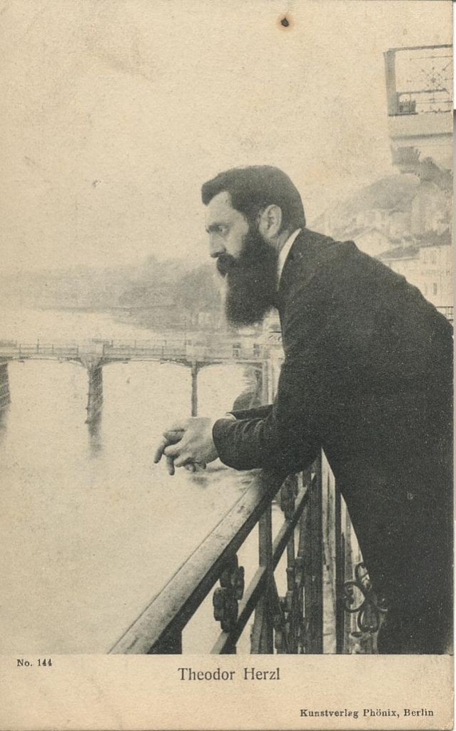 Theodor Herzl- Ephraim Moses Lilien