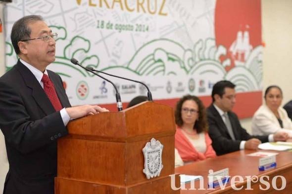 El embajador de Japón en México, Shuichiro Megata