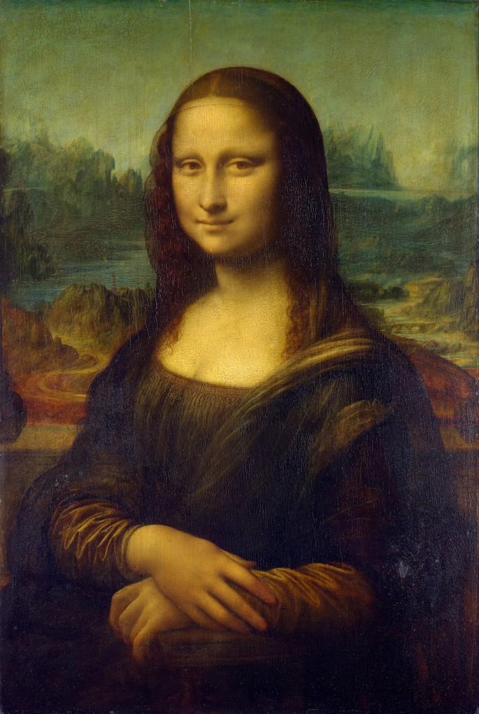 La Mona Lisa, Leonardo da Vinci, 1503-1519