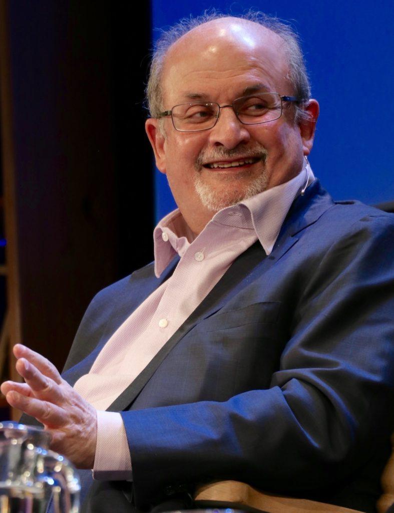 Salman Rushdie en 2016