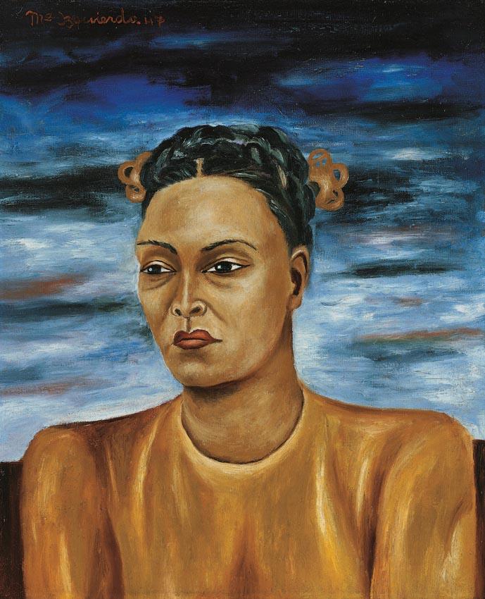 Autorretrato, María Izquierdo, 1947