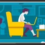 Posturas correctas frente a la computadora