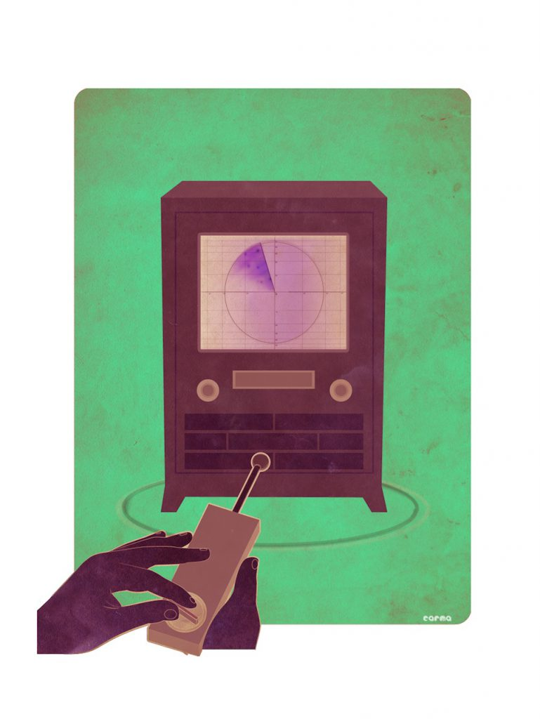 Telekino, o primer control remoto