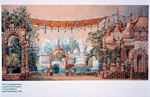 Dibujo de la presentación original del Cascanueces