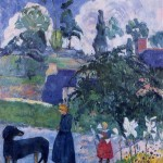Among the lillies, Paul Gauguin, 1893