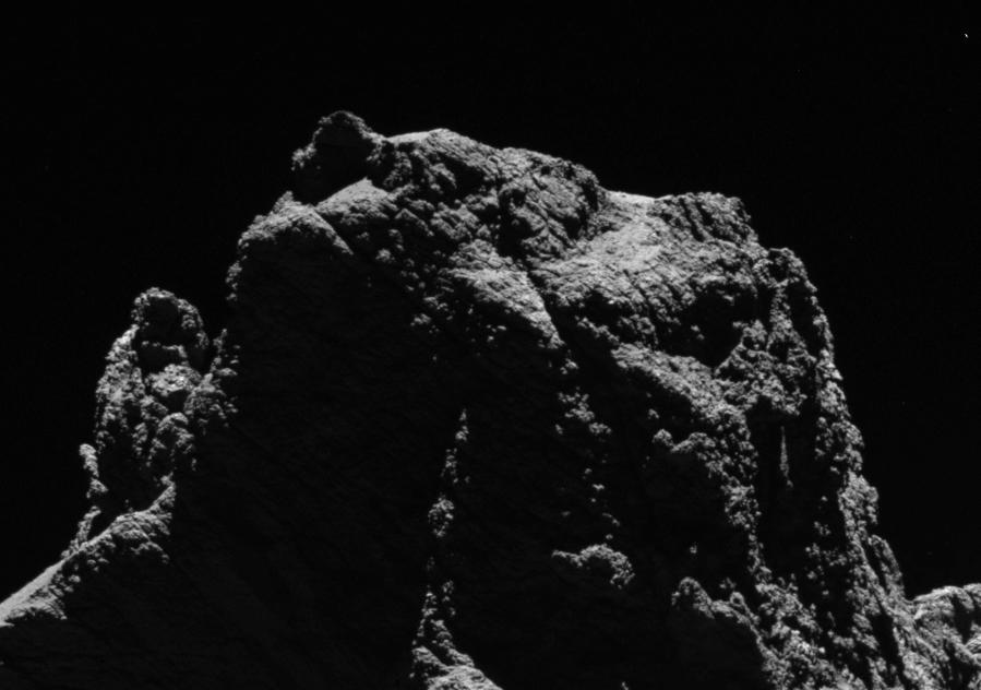 ¿El rostro del cometa 67P_Churyumov-Gerasimenko- ESA_OSIRIS Team?