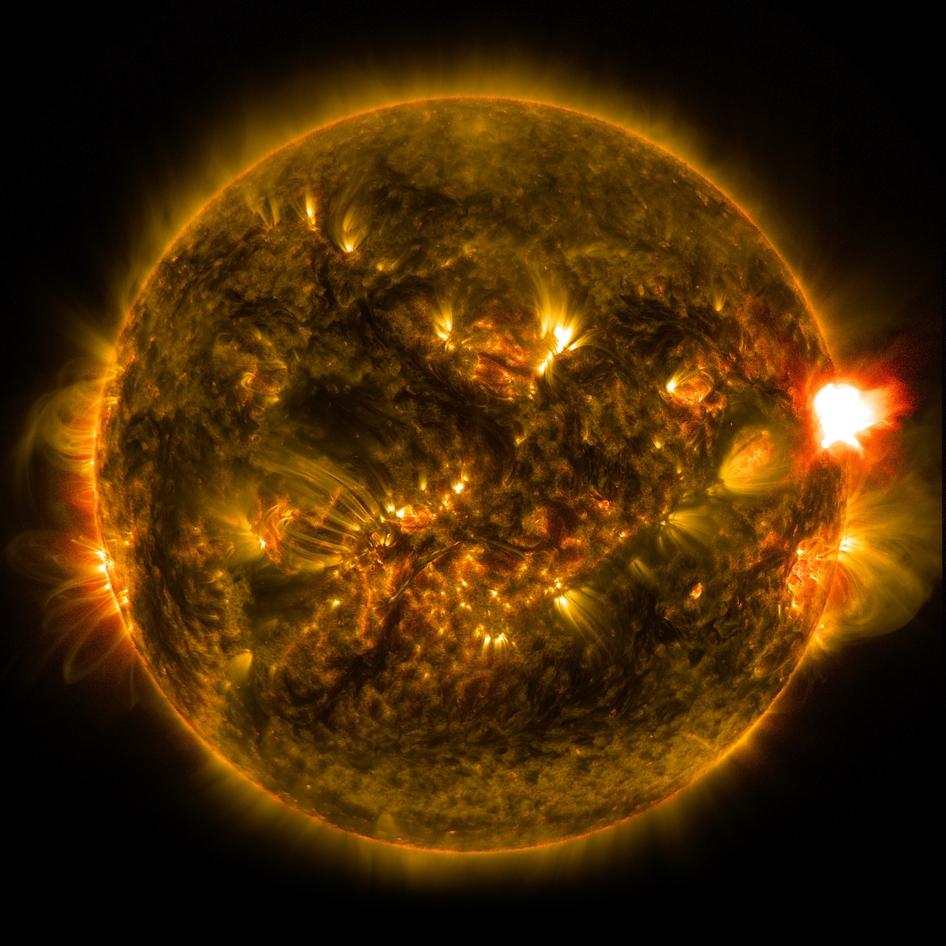 Primera llamarada solar notable de 2015- NASA/SDA