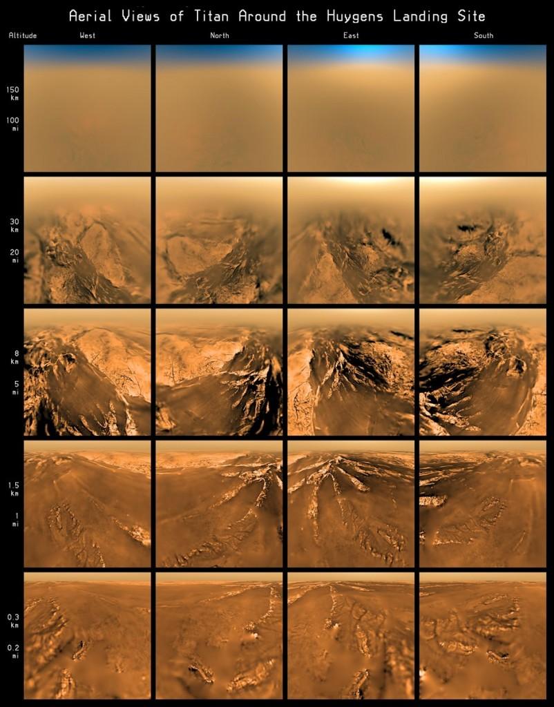 10 años en Titán