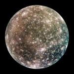 Calisto, la luna de Júpiter con más cráteres