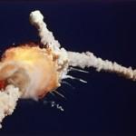 La explosión del Challenger