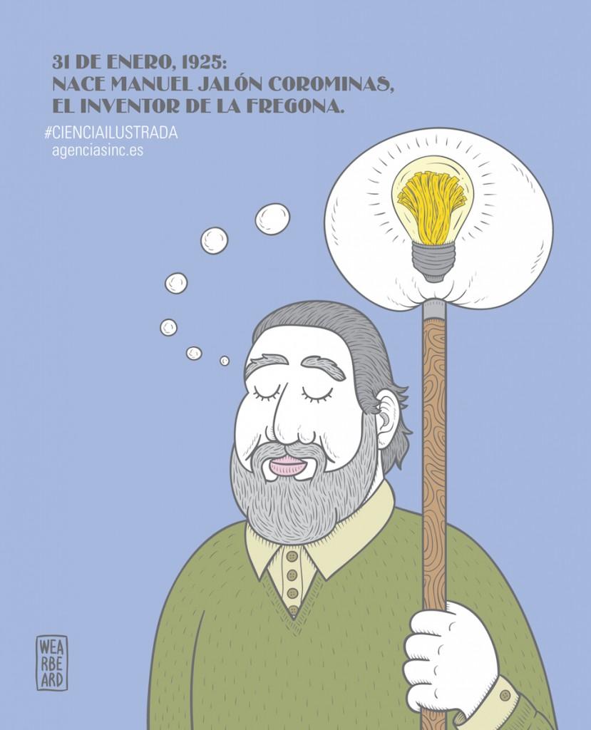 Manuel Jalón y su frefona- Wearbeard, SINC.jpg