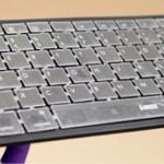 Un teclado que reconoce al usuario, se autorrecarga y repele la suciedad