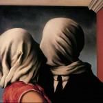 Los Amantes,  René Magritte, 1928
