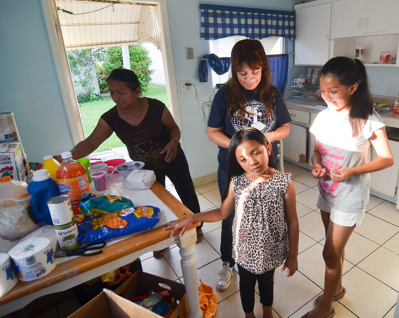 Familia procedente de Nicaragua y residente en Miami- EFE/Gastón de Cárdenas