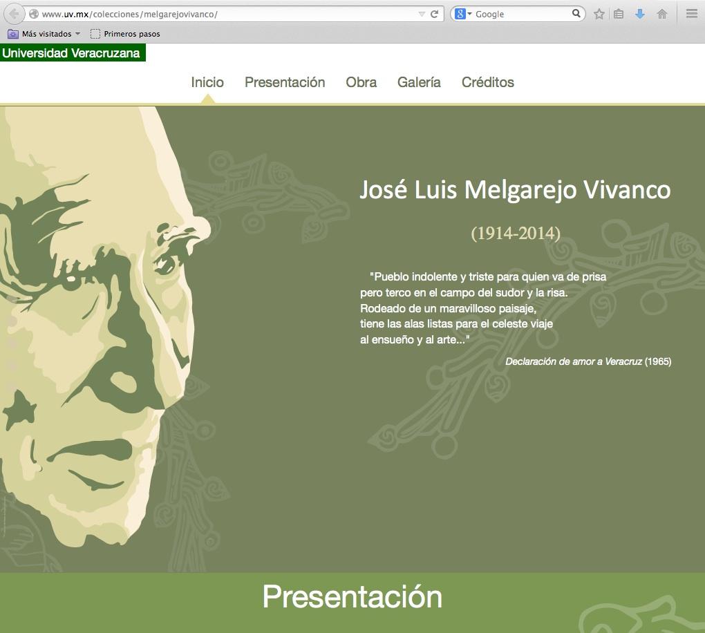 Obra de José Luis Melgarejo en línea