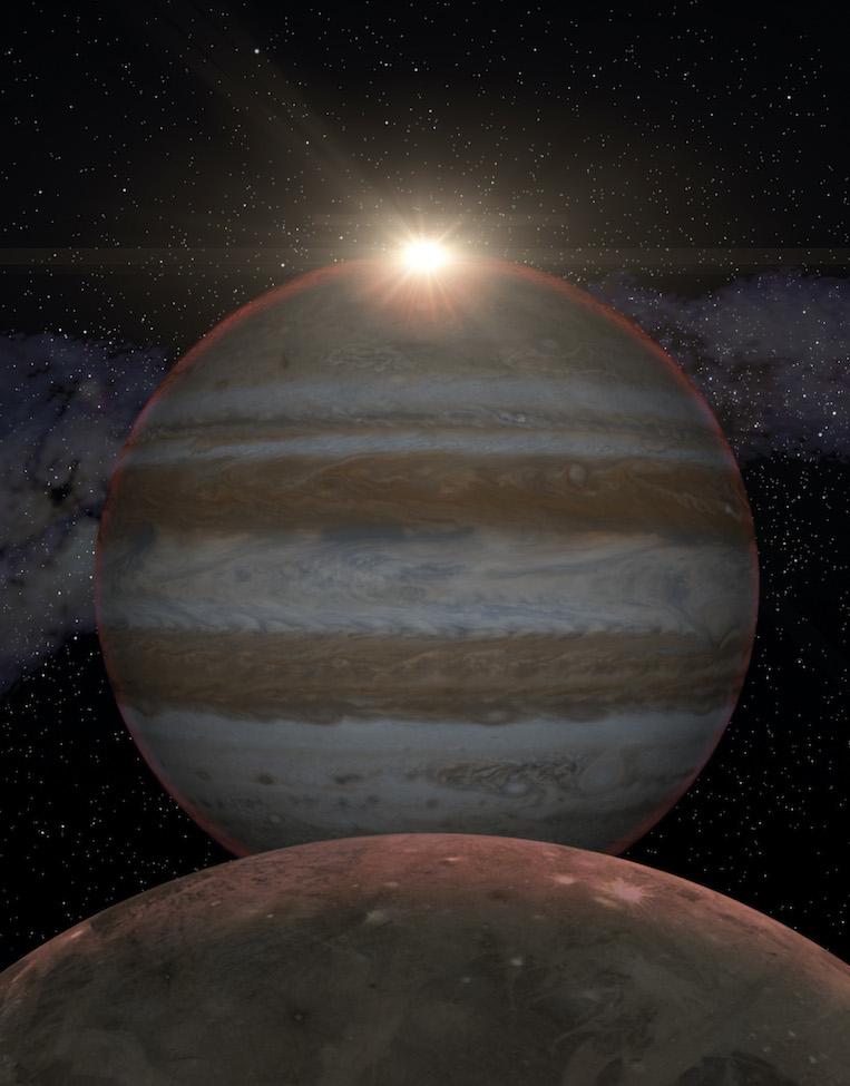 Júpiter, un laboratorio para el estudio de exoplanetas