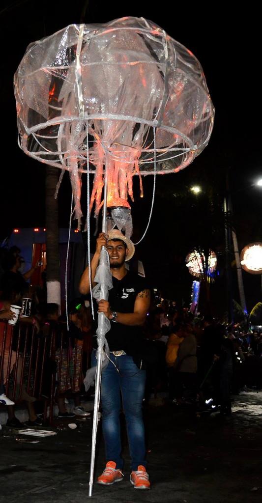 Comparsa del Acuario de Veracruz, Carnaval 2015