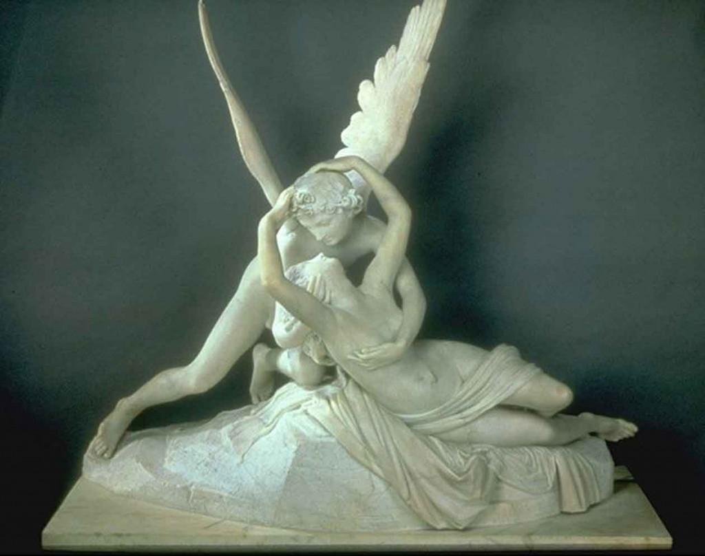 Eros y Psique, A. Canova, 1793- Louvre, París
