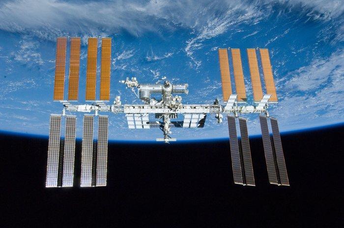 Estudiando la superficie del mar desde la Estación Espacial