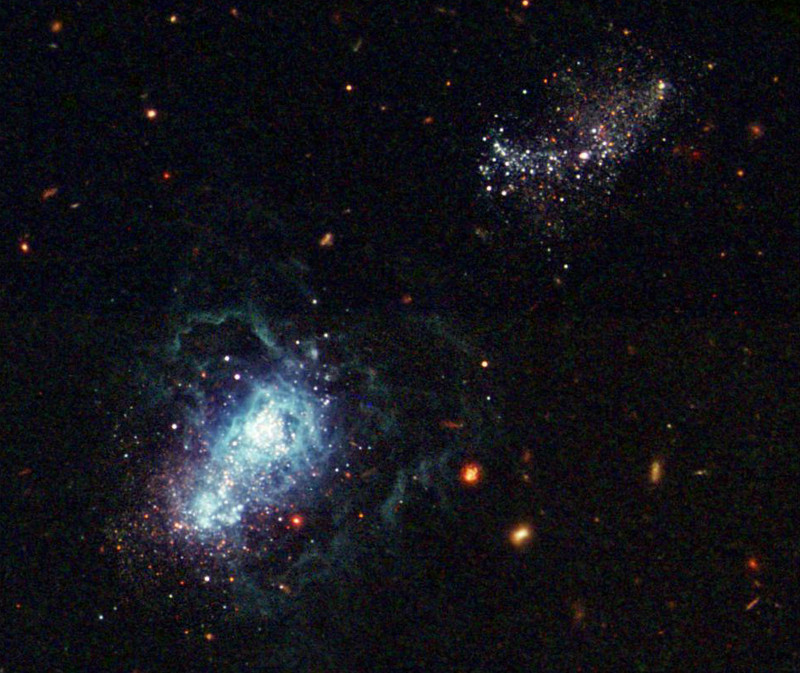 El pasado del Universo en una galaxia