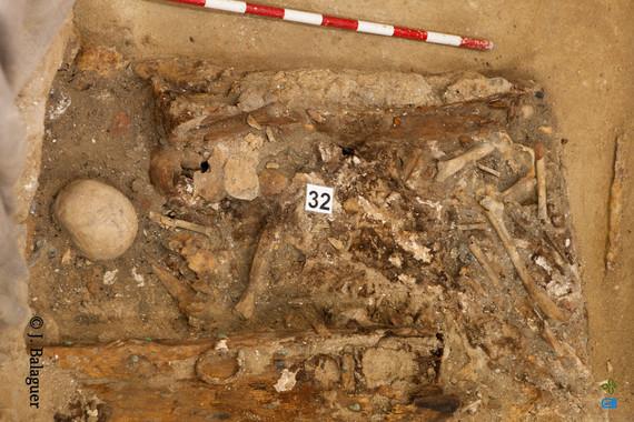 Aquí están los huesos de Cervantes