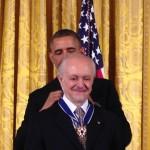 Obama y Mario Molina
