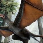 Descubierto un pequeño dinosaurio chino con alas de murciélago