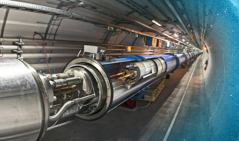 Recreación artística del túnel del LHC / Dominguez, Daniel; Brice, Maximilien / CERN