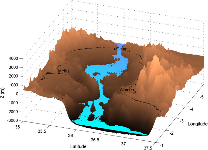 Se secó hace 6 millones de años: El mar Mediterráneo se volvió a llenar de agua en unos dos años