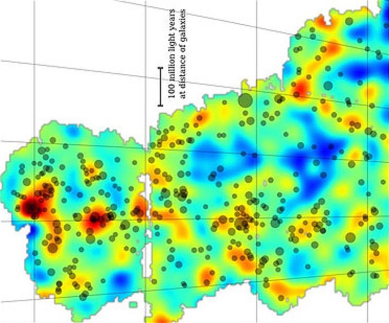 El mayor mapa de la materia oscura del universo