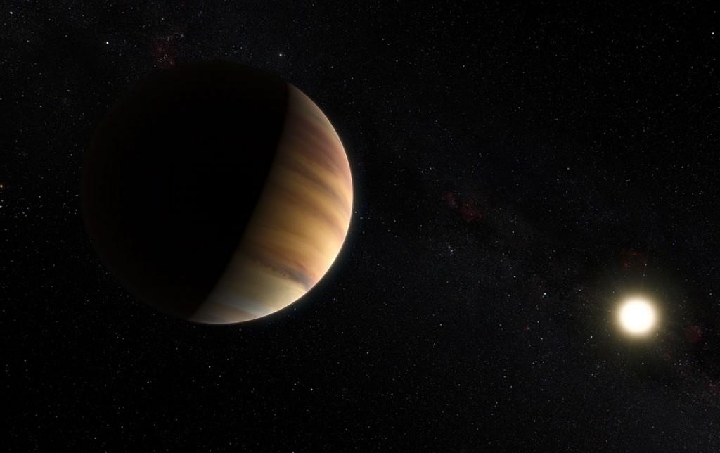 Primer espectro de un exoplaneta realizado en el rango visible de la luz