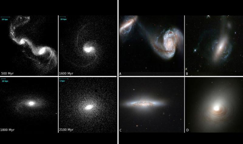 Las galaxias lenticulares más masivas pudieron formarse por fusión de otras