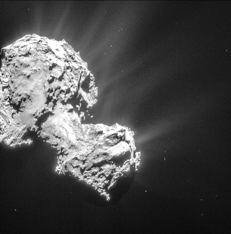 El cometa 67P no tiene campo magnético