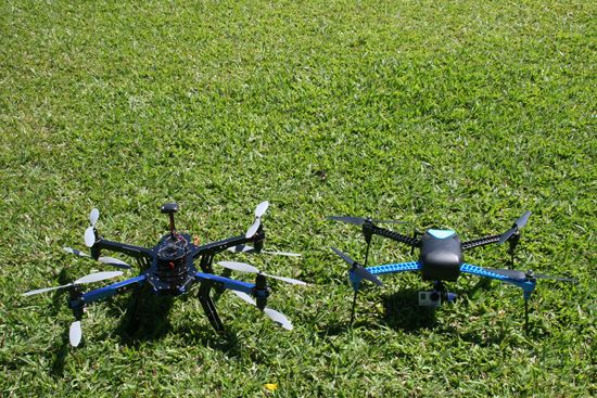 La Universidad Centroamericana experimenta con drones para la docencia y la investigación