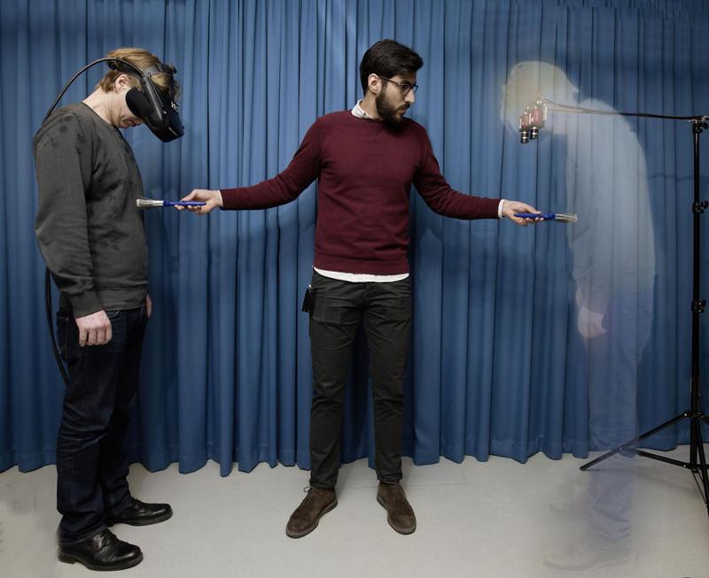Un experimento crea la sensación de invisibilidad