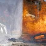 Sistema para proteger a los bomberos de la temperatura y del humo en incendios