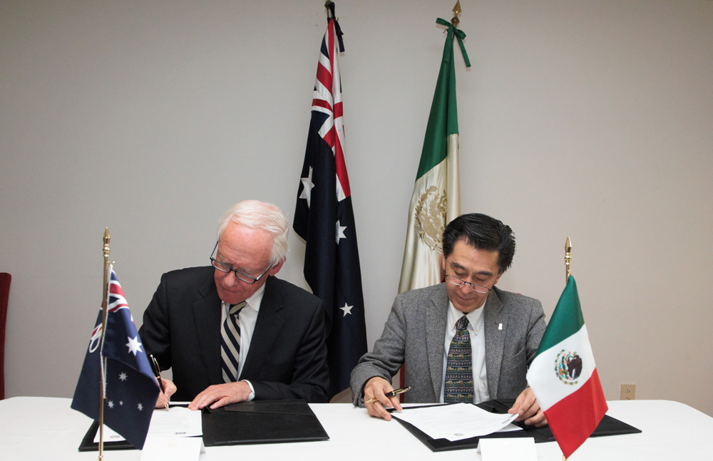 Firman acuerdo de colaboración Academia Mexicana de Ciencias y la Academia Australiana de Ciencias