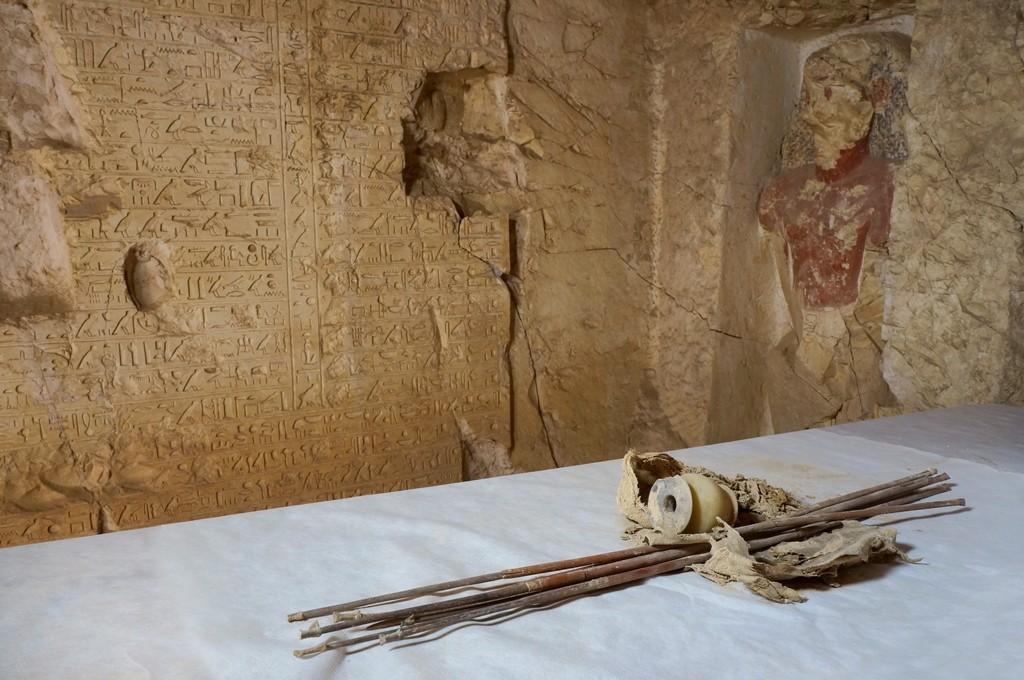Redescubren tumba egipcia pérdida en el S. XIX