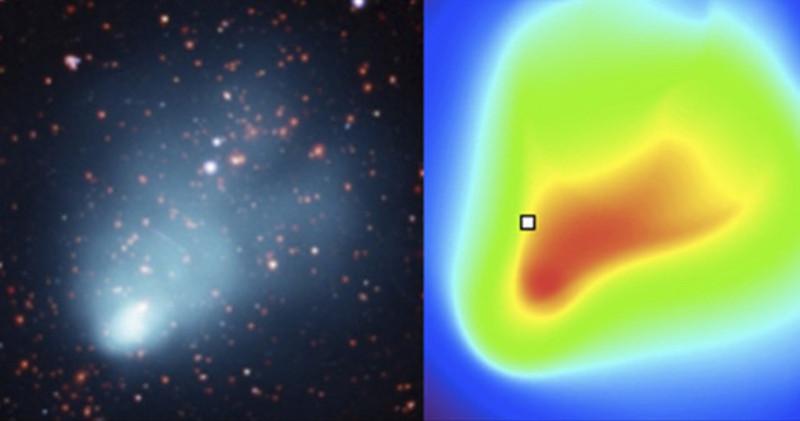 Cluster de galaxias 'El Gordo' y modelo de gas caliente- UPV/EHU