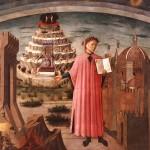 Dante Alighieri, padre del italiano y autor de La Divina Comedia